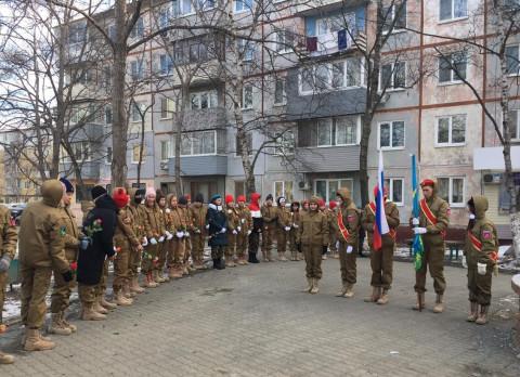 Приморские юнармейцы почтили память погибшихв Чечне