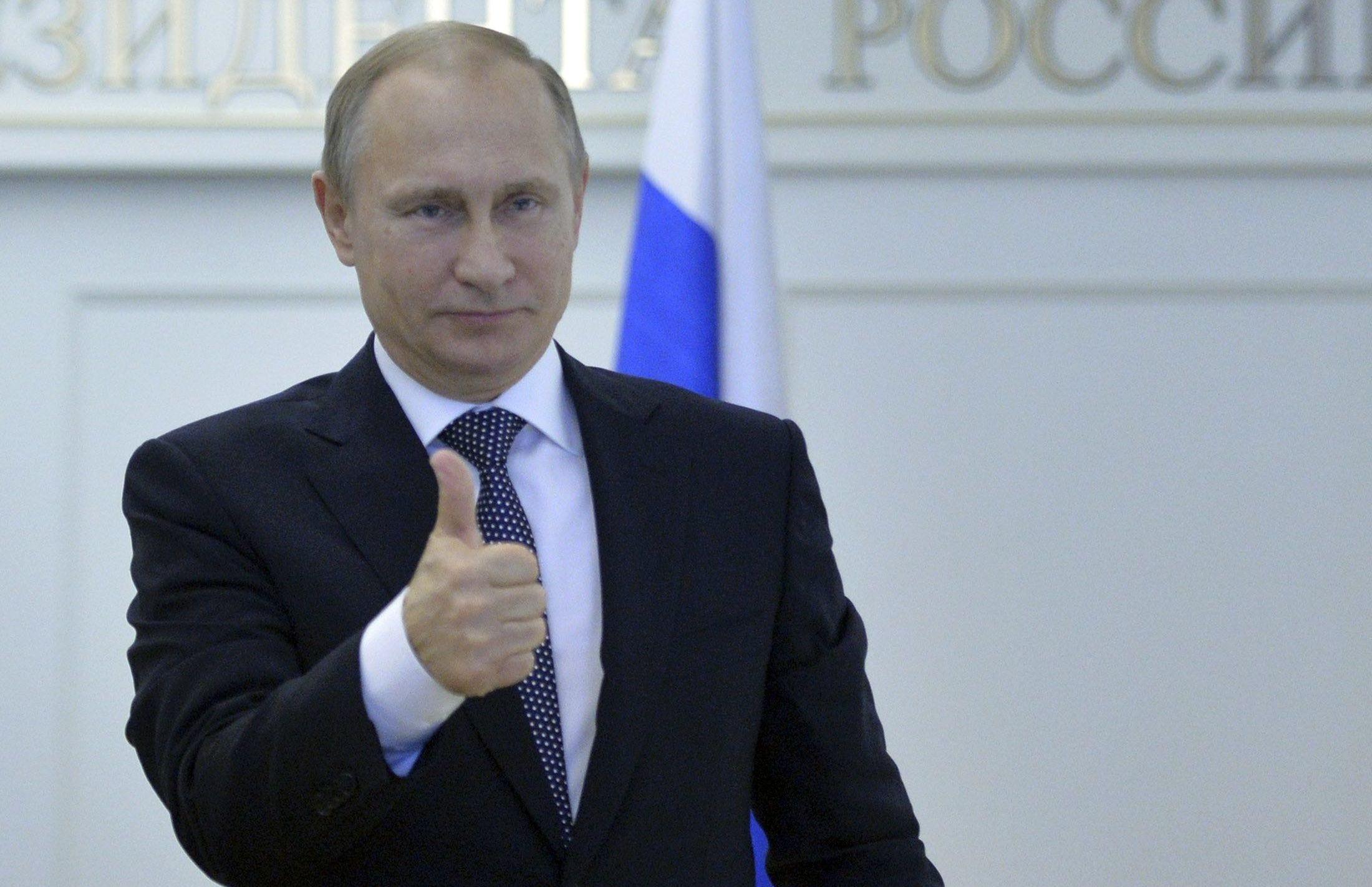 Путин рад за тех, кто навострил лыжи
