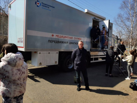Детский «Поезд здоровья» начал работу в Приморье