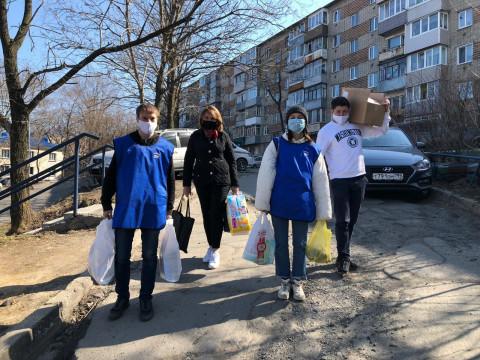 Волонтеров поблагодарят за помощь населению в период пандемии коронавируса