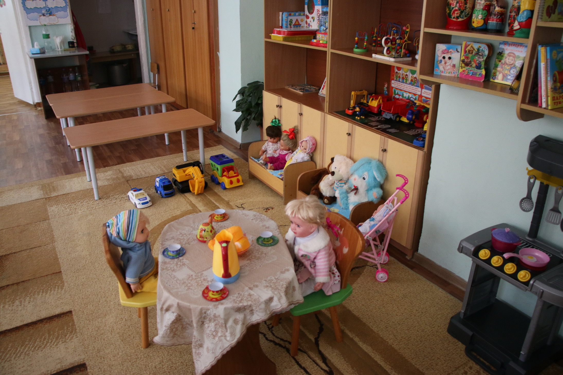 Свободные места ещё остаются в дежурных группах детских садов Владивостока