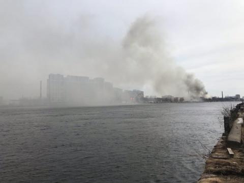 Мощный взрыв произошел в Приморье