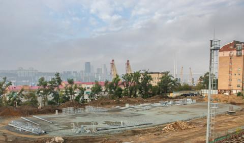 Реконструкция стадиона «Авангард» продолжается во Владивостоке
