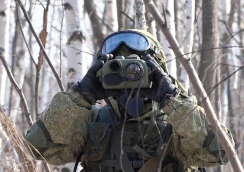 Бурятские танкисты захватили населенный пункт