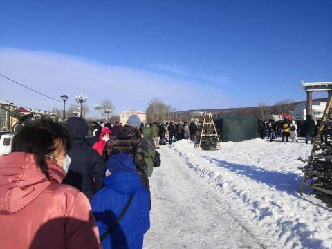 Сахалинцы собрались на митинг о недоверии правительству области