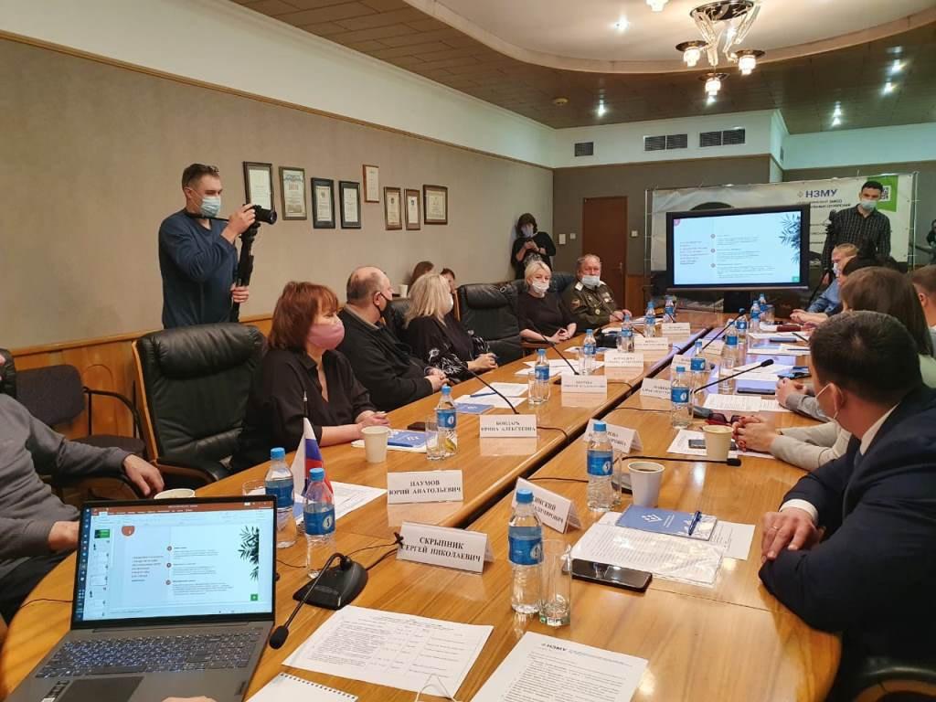На общественном совете при НЗМУ обсудили планы по социальной деятельности предприятия