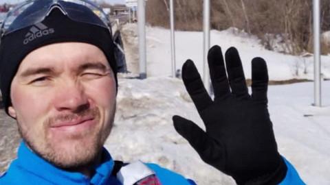 Русский Форрест Гамп добежал до Владивостока