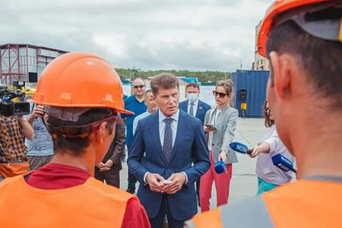 Олег Кожемяко: «Проект развития «Сухого Порта» вызывает уважение»