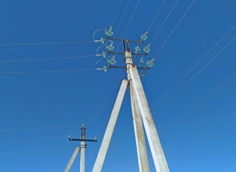 Почти на 70% обновили электросети на острове Русский