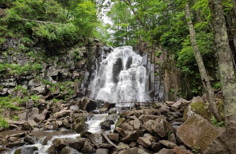 Шкотовский водопад показали в передаче «Доброе утро» на Первом
