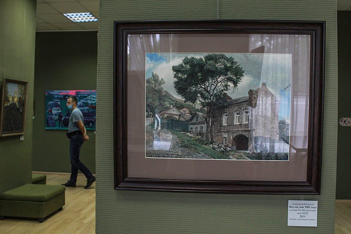 Из интернета в реальность: «Нарисованный Владивосток» вновь в картинной галерее