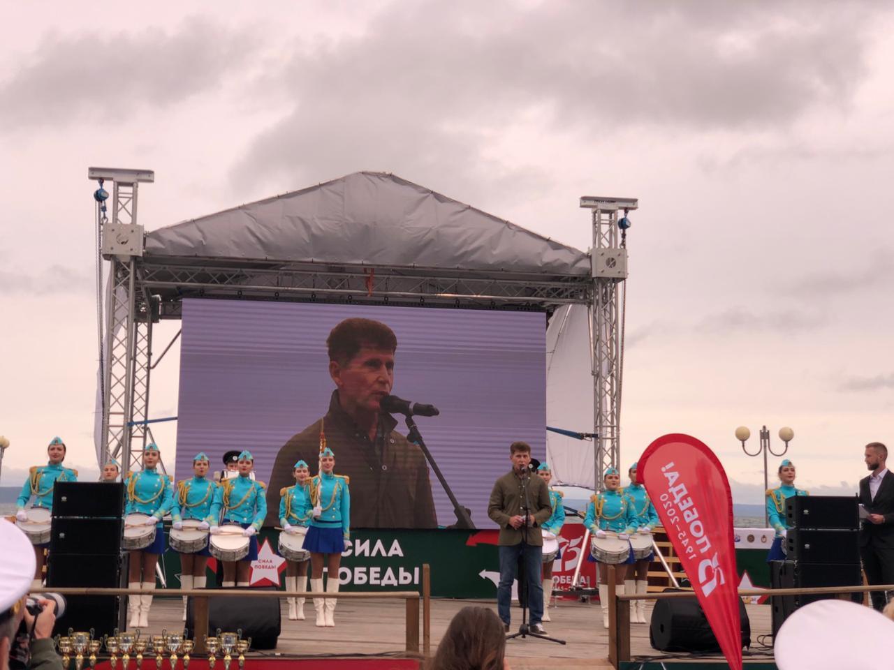 Военно-спортивный фестиваль «Сила Победы» состоялся в Приморье