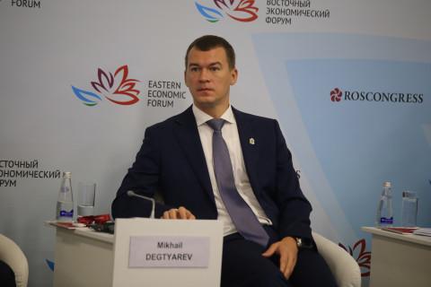 """Дегтярёв назвал Владивосток """"уездным городом"""""""