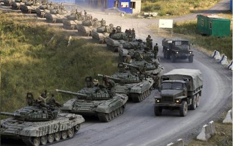 Азербайджанские танки остановились по дороге на Ереван