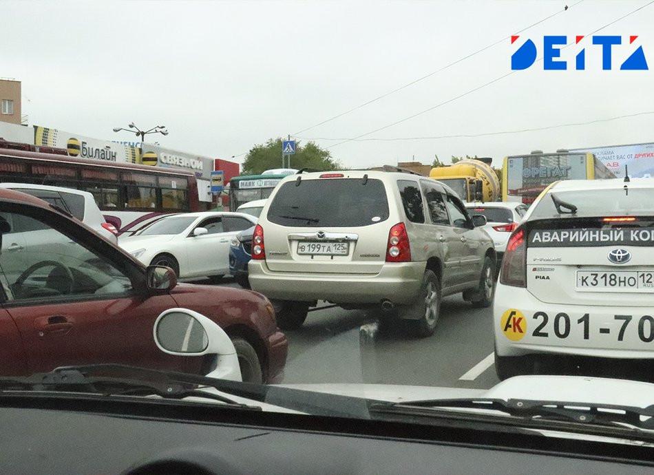 Во Владивостоке открыли новую дорогу