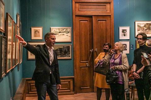 Встреча времён – картины из коллекции Юрия Шпилёва в Приморской картинной галерее