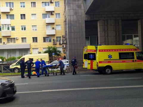Мотоциклиста сбили во Владивостоке