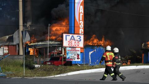 АЗС в жилых районах могут убрать после взрыва в Новосибирске