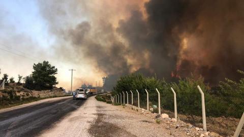 В Турции разбился российский самолет, тушивший пожары