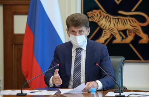 Федеральные министры доложили Кожемяко о развитии спорта