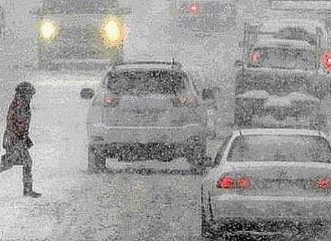 Стало известно, когда пойдёт снег в России