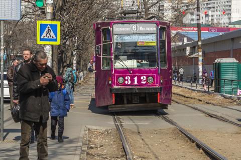Владивостокский трамвай продают на металлолом