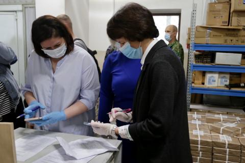 Последние 443 тысячи бюллетеней для голосования поступили в ТИК Владивостока