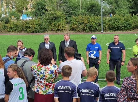 Современный спорткомплекс открыли в Спасске-Дальнем