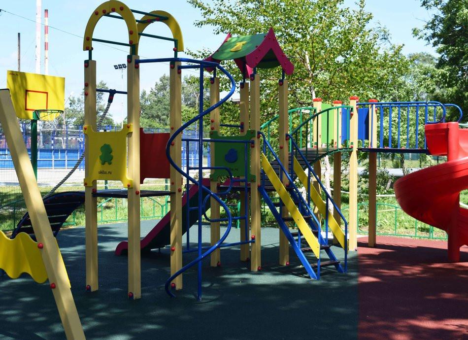 Новая детская площадка появится в приморском селе