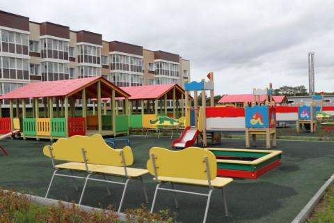 Новый детский сад открыли в Приморье
