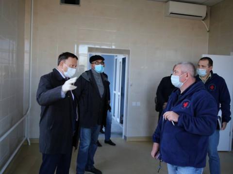Ремонт медицинских учреждений идет в Артеме