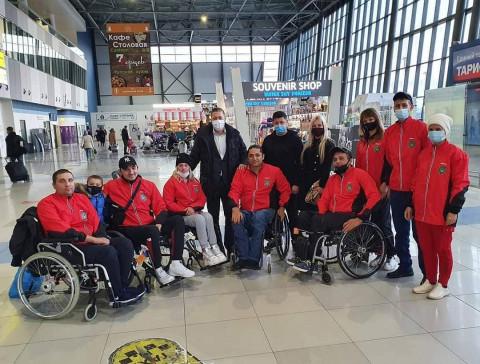 Приморская паралимпийская команда по регби отправлена на Чемпионат