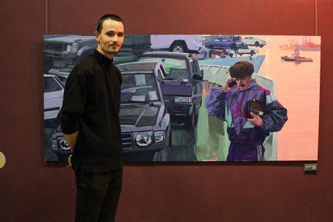 «Правый руль»и не толькоДмитрия Лучинина: новая выставкапроекта «Молодые и талантливые»