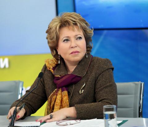 Матвиенко пожаловалась на «гигантскую пенсию»