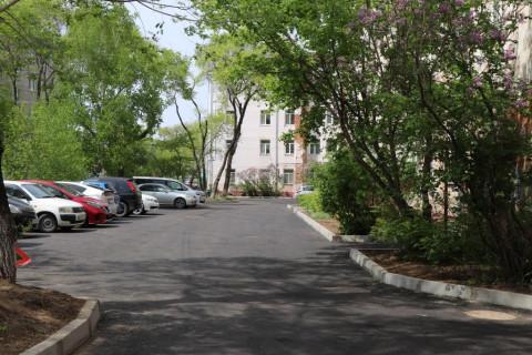 Очередной двор благоустроен по программе «100 дворов Уссурийска»