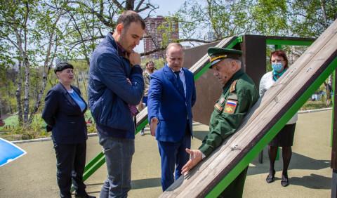 Спортплощадку обновят во владивостокской школе