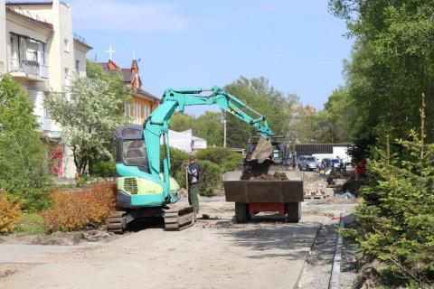 Общественные наблюдатели контролируют ремонт популярных мест отдыха в Уссурийске