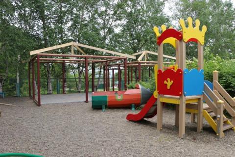 В Уссурийске завершают благоустройство детского сада на слободе