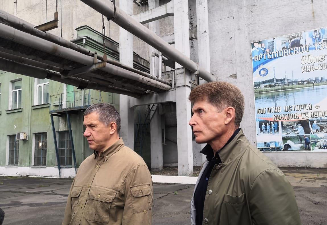 Новую ТЭЦ в Артеме переведут на газ