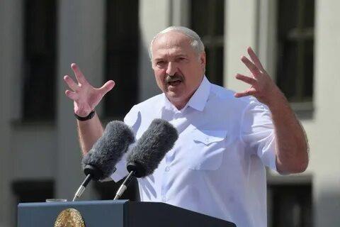 «Волшебник в голубом вертолете» Лукашенко спустился с небес к белорусским рабочим