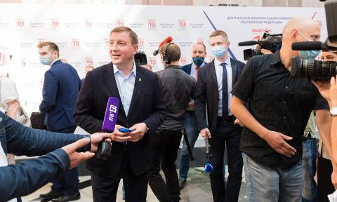 «Единая Россия» заняла пятый номер в избирательном бюллетене