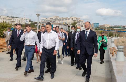 Павильон Приморского края на «Улице Дальнего Востока» был отмечен Юрием Трутневым