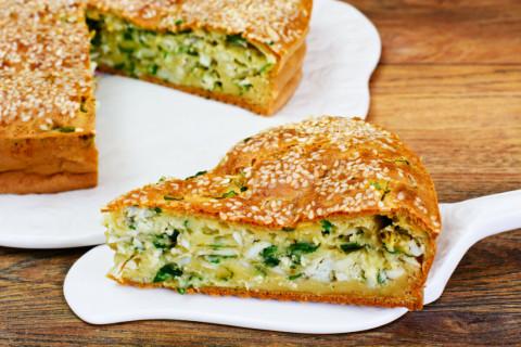 Заливные ПП пироги для тех, кто любит блюда полегче