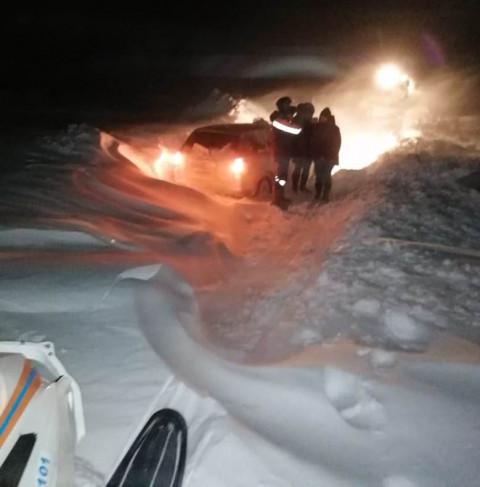 Басик, Маня и восемь человек стали заложниками снежных заносов в Приморье