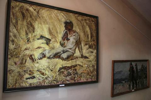 Картины в память о войне - проект «Арт-кухня» продолжает работу
