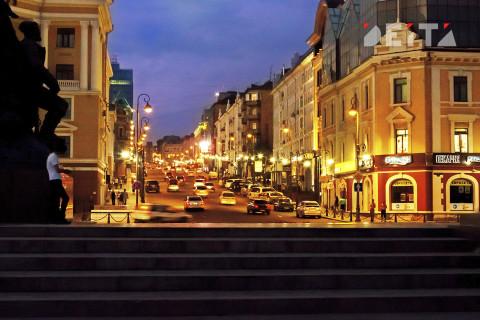 В центре Владивостока арестованы крупнейшие магазины
