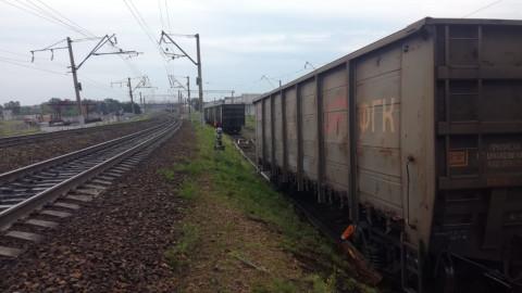 Спасатели работают на месте крушения поездов в Приамурье
