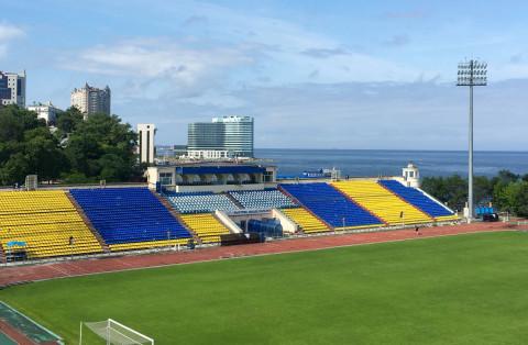 Стадион «Динамо» отремонтируют во Владивостоке