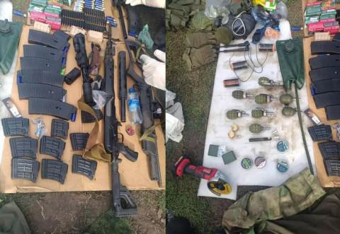 У воронежского террориста нашли гигантский арсенал
