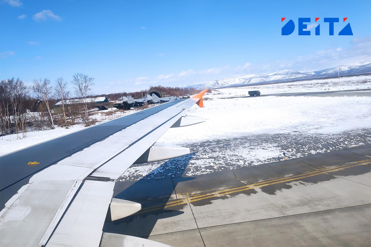 Реконструированный камчатский аэропорт проработал без перебоев меньше двух месяцев